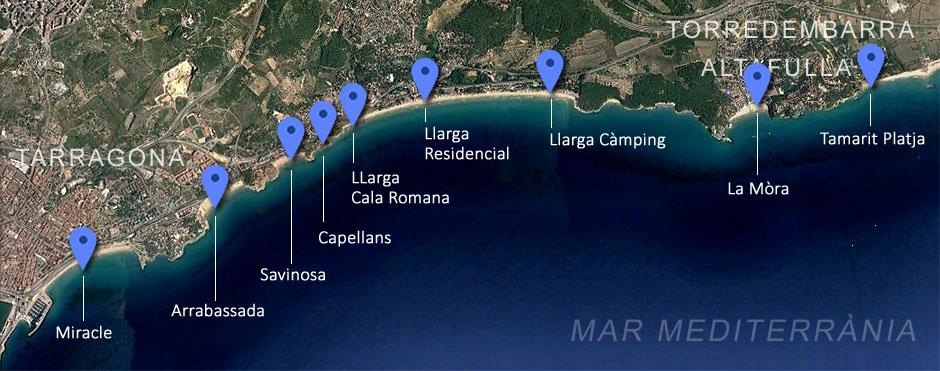 Platges de Tarragona