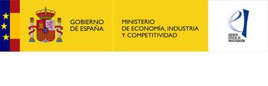 Logotip Ministerio de Economía, Industria y Competitividad. Agencia Estatal de Investigación