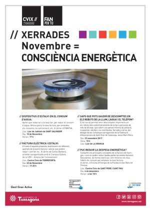 EMATSA PARTICIPA EN UN CICLE DE XERRADES I ACCIONS SOBRE EFICIÈNCIA ENERGÈTICA