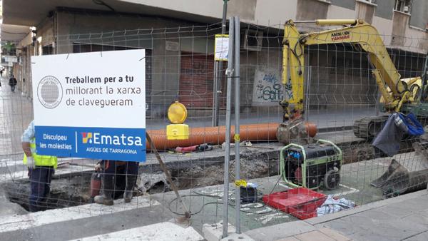 EMATSA RENOVA LA XARXA DE CLAVEGUERAM DE FLORENCI VIVES, MONESTIR DE POBLET, ESCIPIONS, OPISSO I ANTONI AGUSTÍ