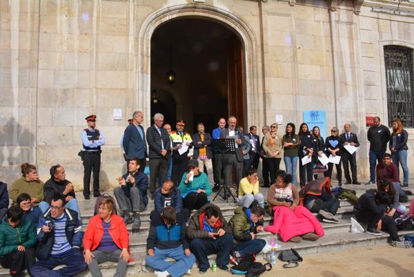 Un momento de la intervención del Director gerente de Ematsa, Daniel Milan, el Día Internacional del Autismo en Tarragona