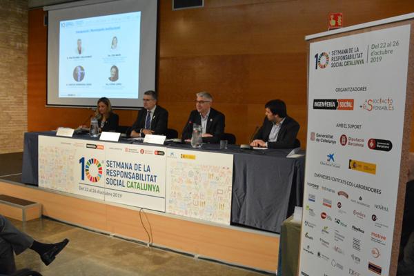 Un moment de la 10a Jornada de Responsabilitat Social celebrada a Tarragona de la mà d'Ematsa