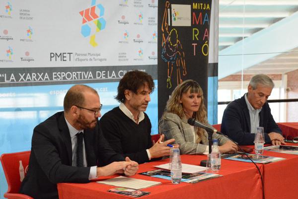 Presentació de la 28a mitja marató +10K ciutat de Tarragona