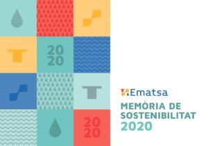 Portada de la Memoria de Sostenibilidad 2020
